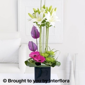Lily & Anthurium Arrangement